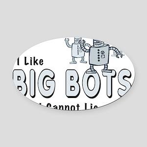 BigBots Oval Car Magnet