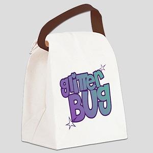 glitterbug Canvas Lunch Bag