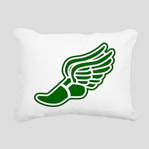 green-3000 Rectangular Canvas Pillow