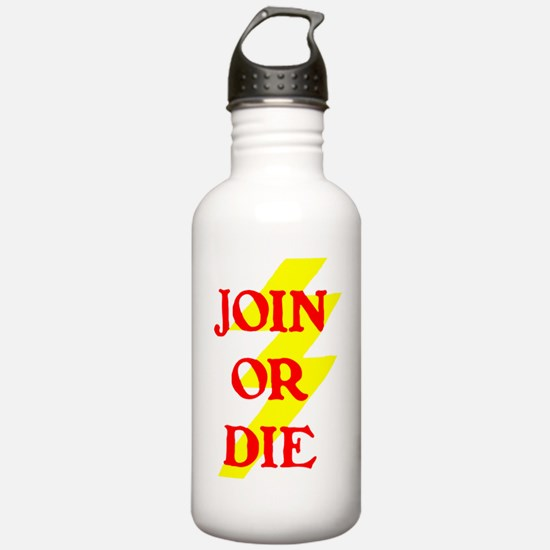 JOIN OR DIE III Water Bottle