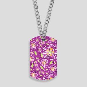 purple_bouquet_kindle Dog Tags