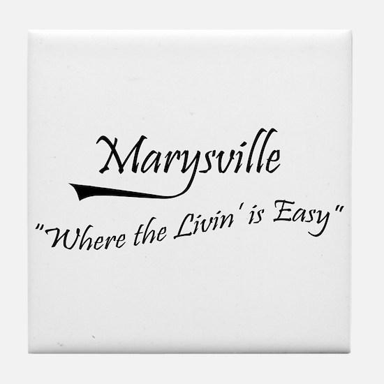Marysville Tile Coaster