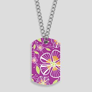 purple_bouquet_441 Dog Tags