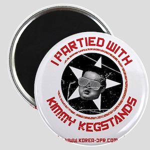 kimmy kegstands_FINAL ART FOR SHIRT_rgb Magnet
