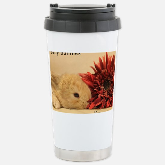 Baby Bunny Calendar Cover Stainless Steel Travel M