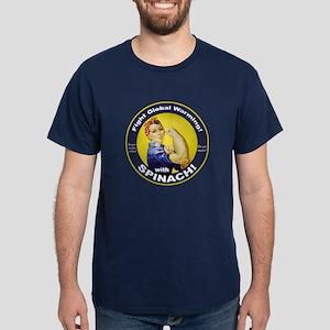 Rosie Round Dark T-Shirt