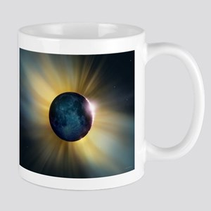 Total solar eclipse Stainless Steel Travel Mugs