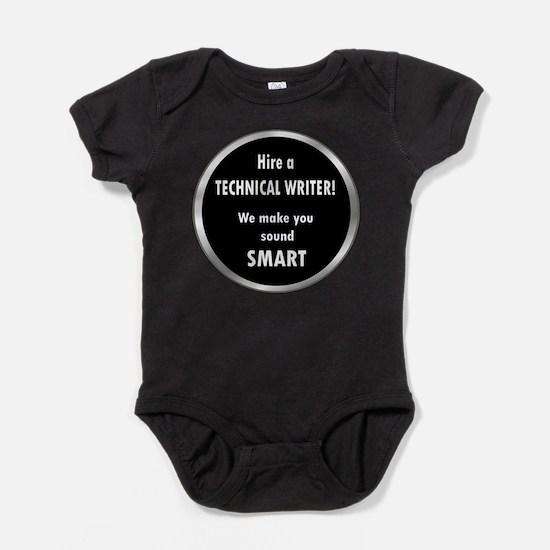 Cute Technical writer Baby Bodysuit