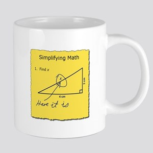 Simplifying Math 20 oz Ceramic Mega Mug