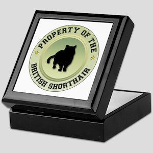 Shorthair Property Keepsake Box