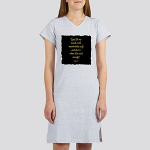 Lord Fill my Mouth Women's Nightshirt