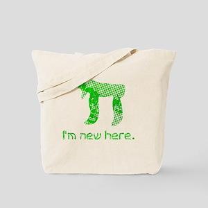 hi_new Tote Bag
