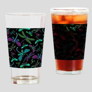 dragonfly-m1-black copyu Drinking Glass