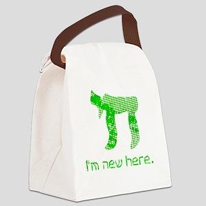 hi_new Canvas Lunch Bag