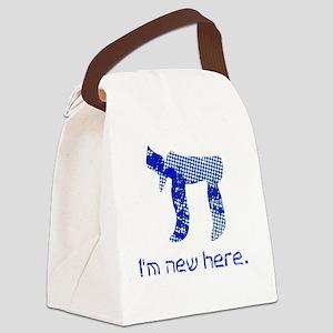 hi_new_5 Canvas Lunch Bag