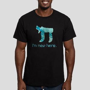 hi_new_2 Men's Fitted T-Shirt (dark)