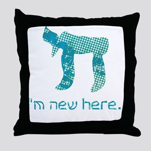 hi_new_2 Throw Pillow