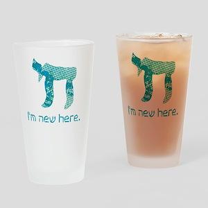 hi_new_2 Drinking Glass