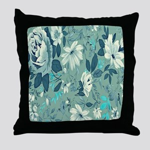 Flower_Pattern_1008 Throw Pillow