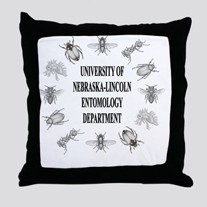 UNL_entoDept Throw Pillow
