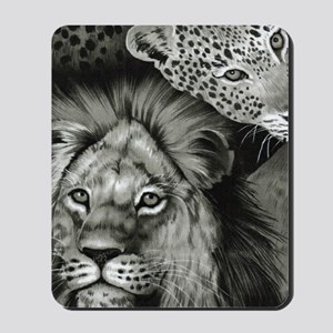 Lion Eye Mousepad