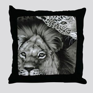 Lion Eye Throw Pillow