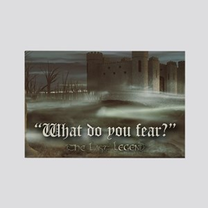 What do you fear 6x4 pcard Rectangle Magnet