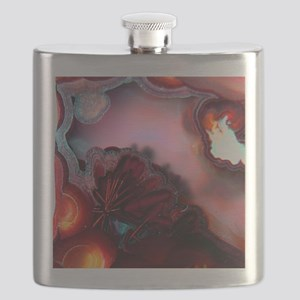 Fire-Agate-Quartz-iPad 2 Flask