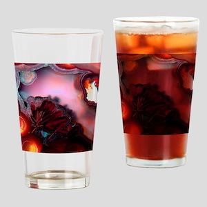 Fire-Agate-Quartz-iPad 2 Drinking Glass