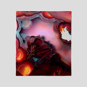 Fire-Agate-Quartz-iPad 2 Throw Blanket