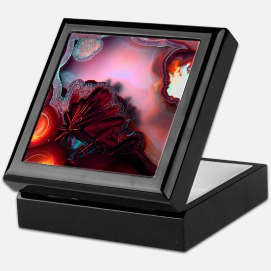 Fire-Agate-Quartz-iPad 2 Keepsake Box