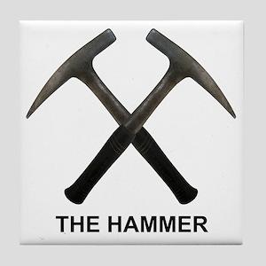 The Hammer Light Tile Coaster