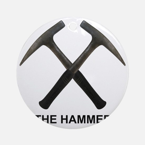 The Hammer Light Round Ornament