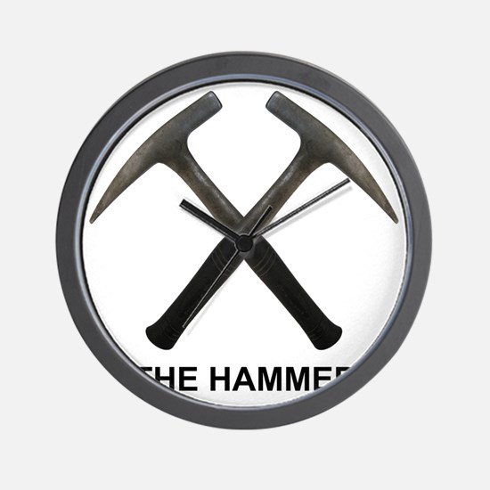 The Hammer Light Wall Clock