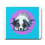 Australian Shepherd Puppy Mousepad