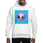 Australian Shepherd Puppy Hooded Sweatshirt