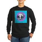 Australian Shepherd Puppy Long Sleeve Dark T-Shirt