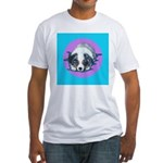 Australian Shepherd Puppy Fitted T-Shirt
