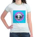 Australian Shepherd Puppy Jr. Ringer T-Shirt
