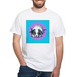 Australian Shepherd Puppy White T-Shirt