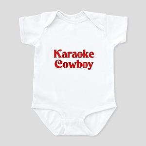 Karaoke Cowboy Infant Bodysuit