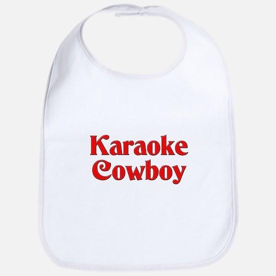 Karaoke Cowboy Bib