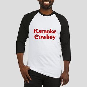 Karaoke Cowboy Baseball Jersey
