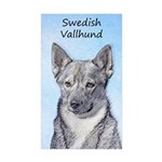 Swedish Vallhund Sticker (Rectangle 50 pk)
