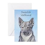 Swedish Vallhund Greeting Cards (Pk of 10)