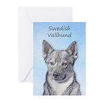 Swedish Vallhund Greeting Cards (Pk of 20)