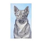 Swedish Vallhund Sticker (Rectangle)