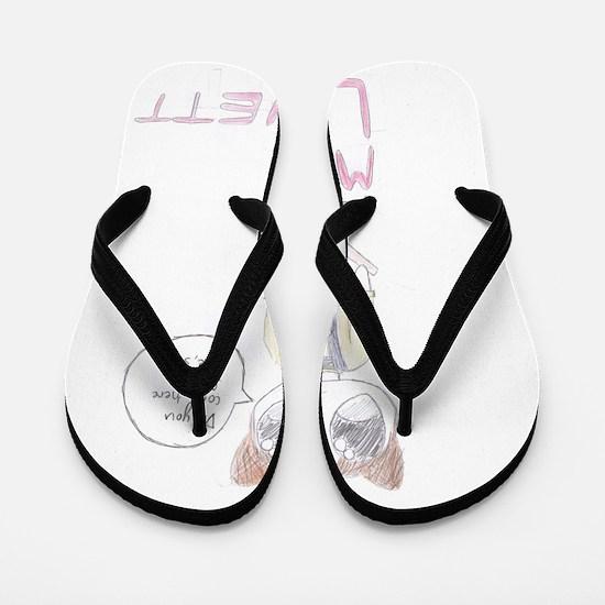 Mrs. Lovett Chibi (HD) Flip Flops