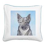Swedish Vallhund Square Canvas Pillow