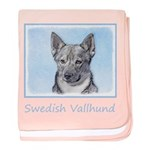 Swedish Vallhund baby blanket